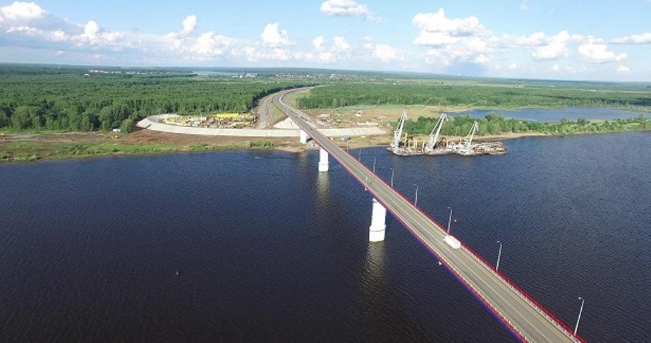 С 1 ноября подорожает проезд по мостам через Каму и Буй в Удмуртии