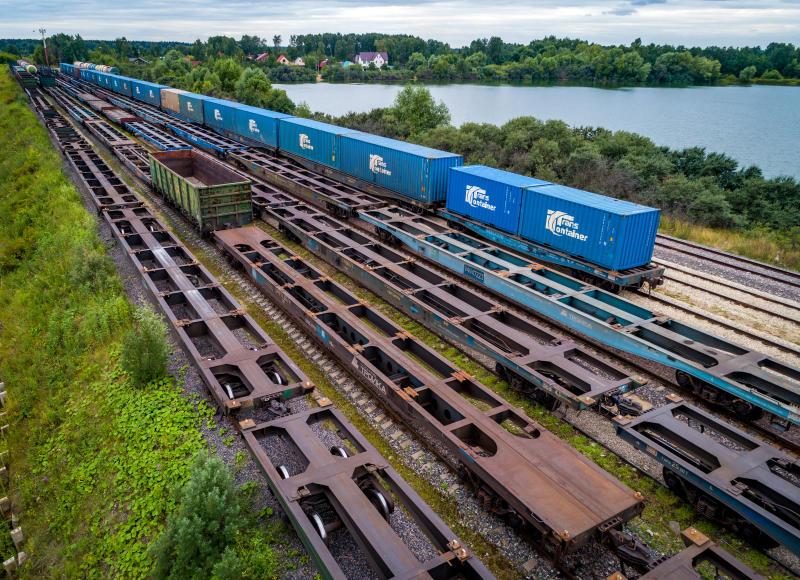 «ТрансКонтейнер» запускает контейнерный поезд из Китая в Европу через Калининградскую область