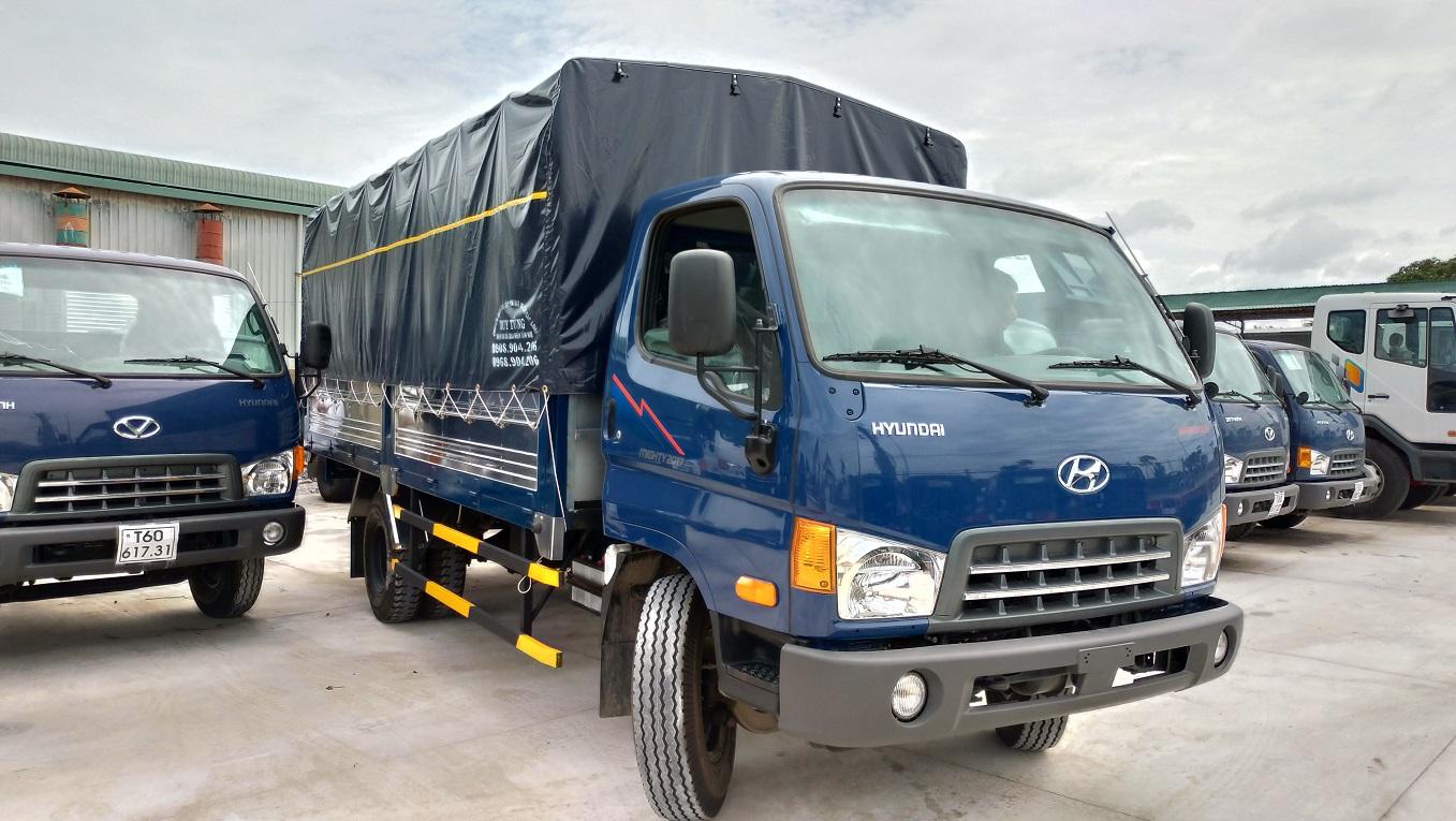 Новый грузовик Hyundai Mighty выходит на российский рынок