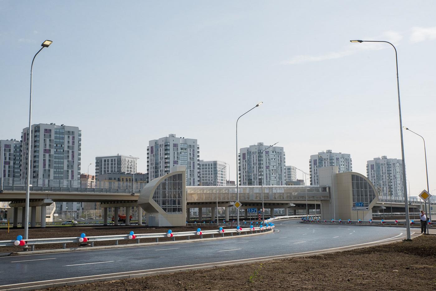 В Тюменской области завершили длившееся 16 лет строительство кольцевой автодороги