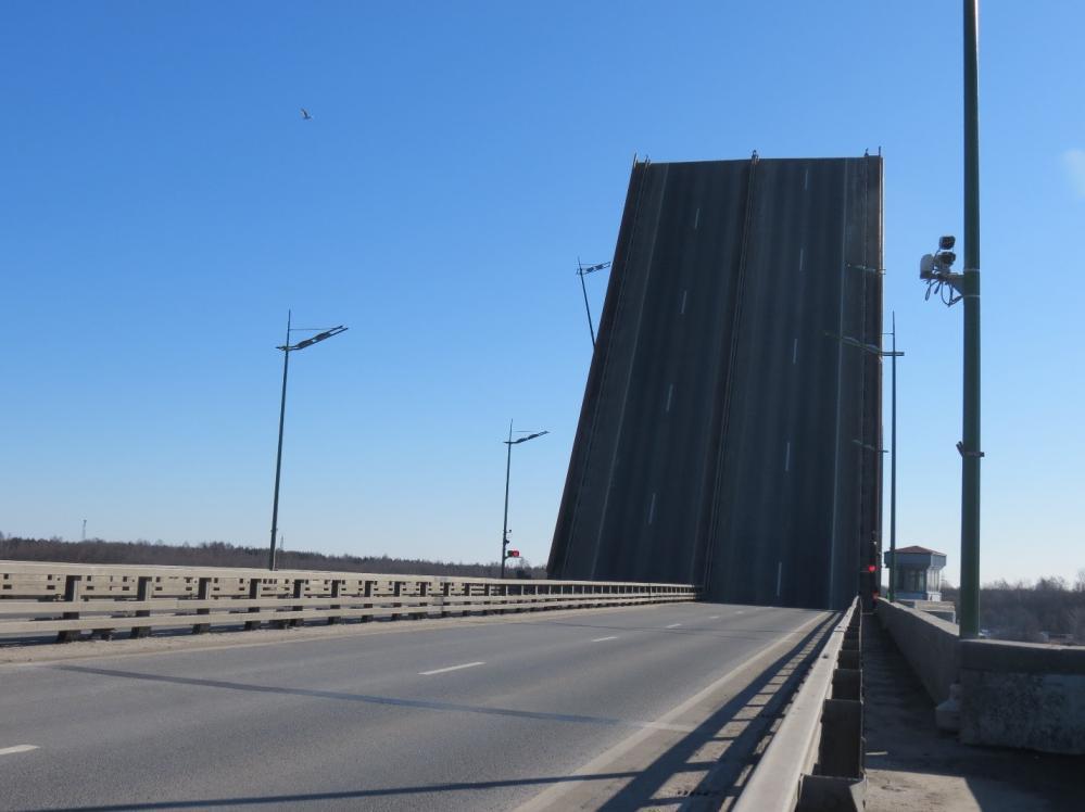 Разводка Ладожского моста запланирована на 5 августа
