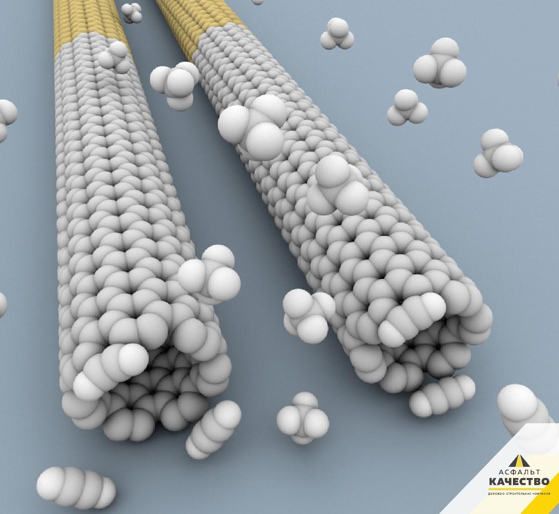 Укладка асфальта: теперь с нанотрубками