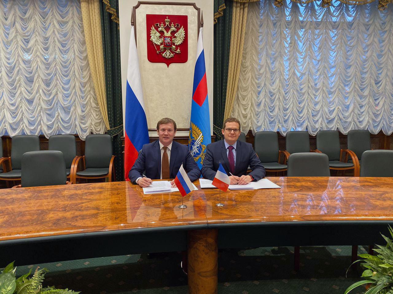 Россия и Франция согласовали контингент разрешений на 3 года вперед