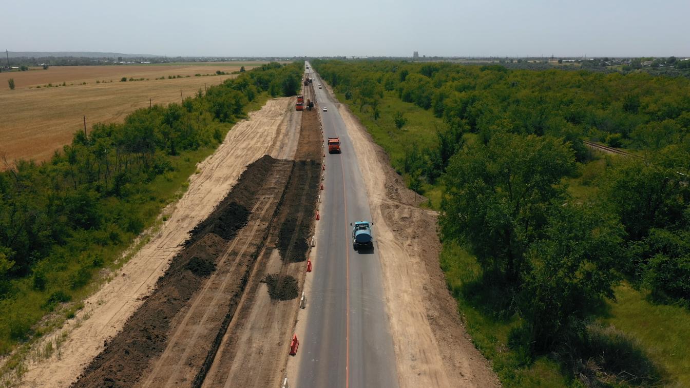 Федеральная трасса А-167 в Ставропольском крае
