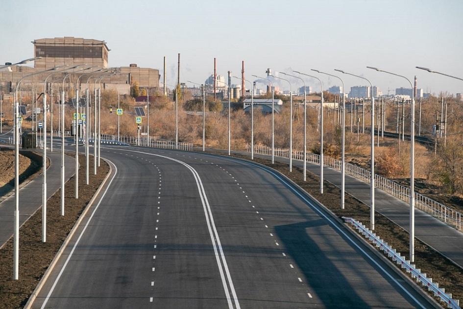 Дублер основной магистрали Волгограда откроют до конца года