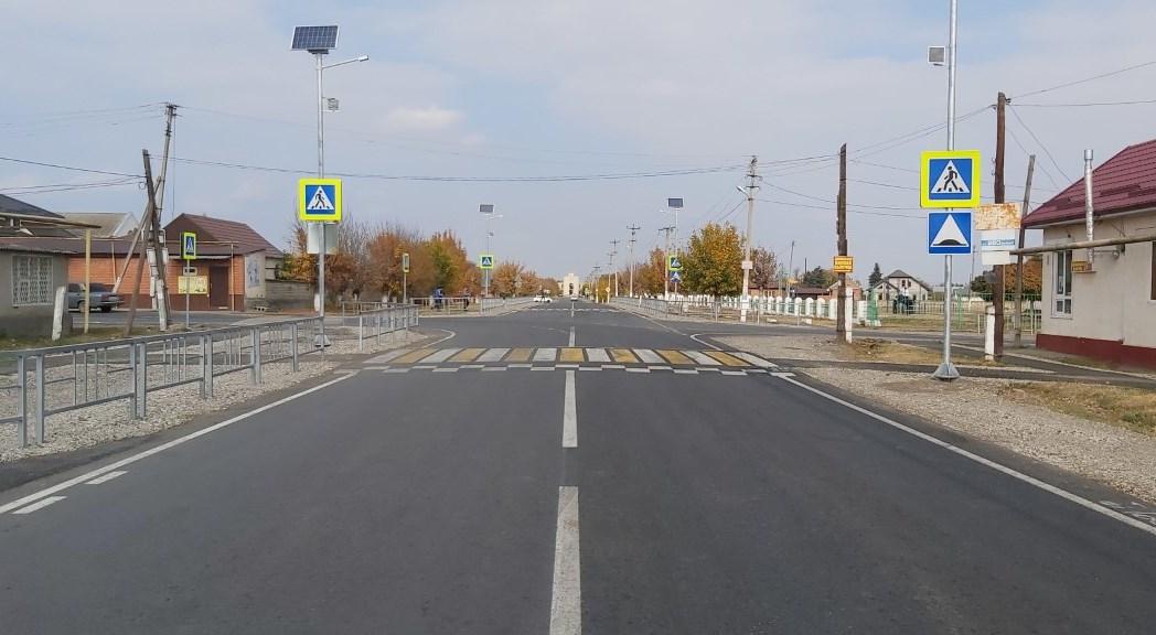 В КБР завершили ремонт на самом крупном дорожном объекте 2020 года