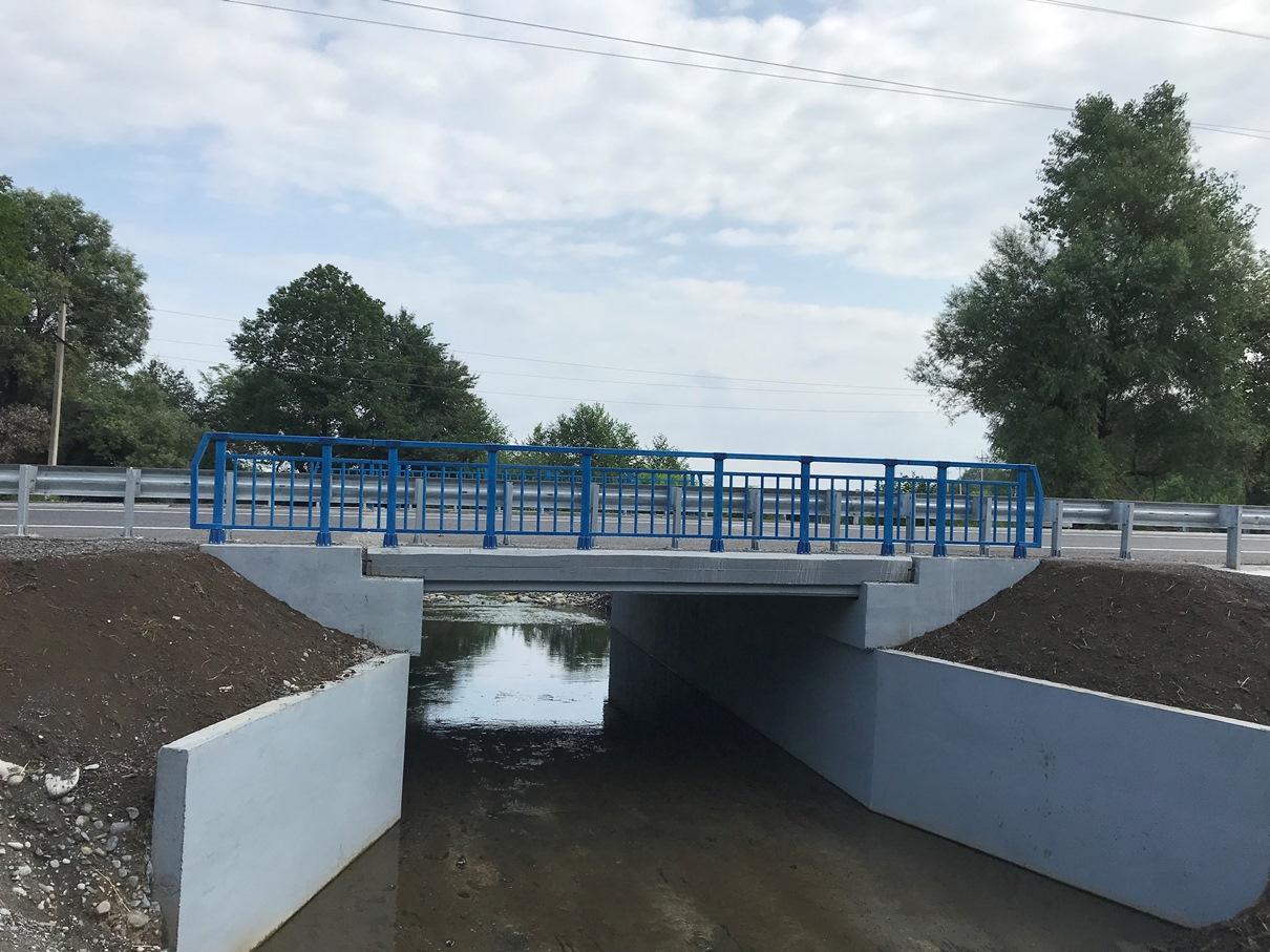 В Северной Осетии на трассе А-162 после ремонта открылся один из мостов