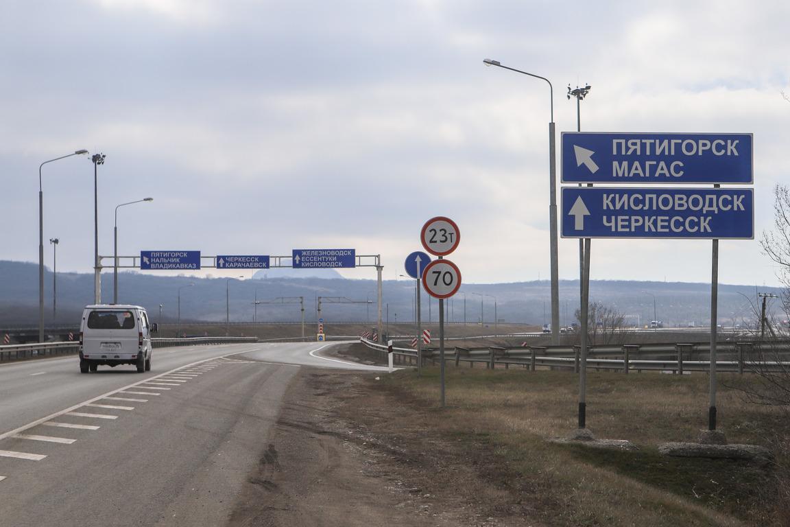 В Ставропольском крае на участке реконструкции трассы А-157 «Минеральные воды – Кисловодск» начались подготовительные работы