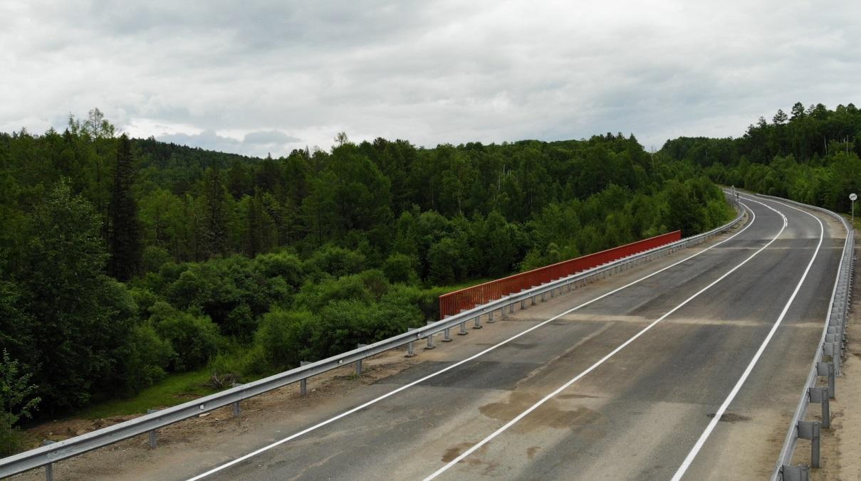 В Бурятии отремонтировали два моста на трассе А-333