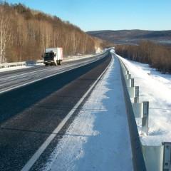 В Забайкальском крае отремонтировали 75 км трассы «Амур»