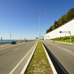 Стоимость строительства платной трассы «Джубга-Сочи» — 2,4 трлн. рублей