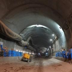 На будущем Восточном выезде из Уфы завершили стыковку тоннеля