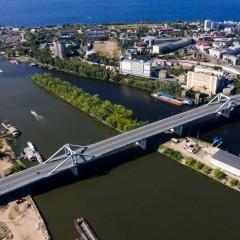 В Самаре открыли для движения первую очередь Фрунзенского моста