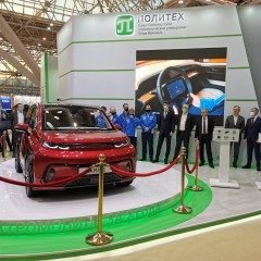 «КамАЗ» представил электрический смарт-кроссовер «Кама-1»