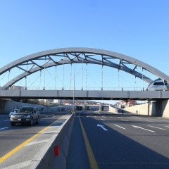 Открыт первый участок новой дороги от Баку до границы с Россией