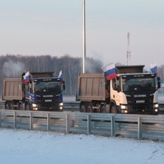 С 12 января стал платным поезд по ЦКАД-4