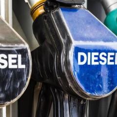 За неделю средняя цена дизельного топлива выросла на 7 копеек