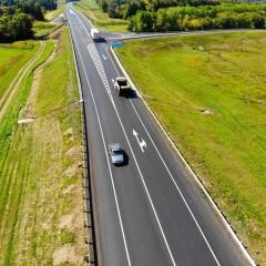 В Тульской области отремонтирован участок дороги М-2 «Крым»