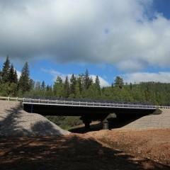 Ремонт моста через ручей Межник в Усть-Кутском районе Иркутской области завершён
