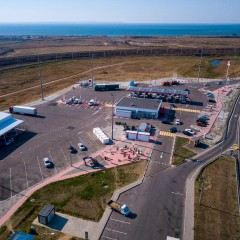 На подходе к крымскому мосту в Кубани открыли две МФЗ дорожного сервиса