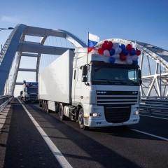 Запуск грузового движения по Крымскому мосту поможет снизить цены в Севастополе