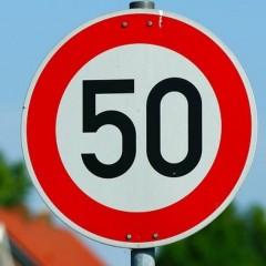 В городах Московской области скоростной режим могут снизить до 50 км/ч