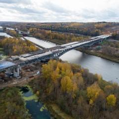 На ЦКАД-3 начались испытания мостов на прочность