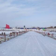В ЕАО открыли ледовую переправу «Нижнеленинское-Тунцзян»