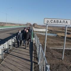 В Воронежской области построили новый мост через реку Савала