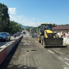 В Минеральных Водах начали ремонт аварийного путепровода