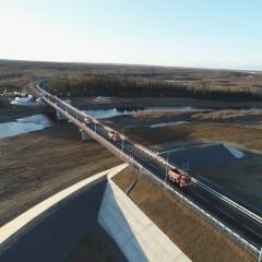 На трассе А-331 «Вилюй» в Якутии построили два новых моста