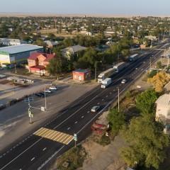 На трассе Р-216 в Калмыкии построили около 4 км линий электроосвещения