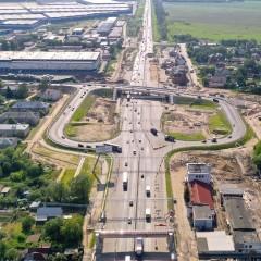 В Обухово открыли рабочее движение на развязке на М-7 «Волга»