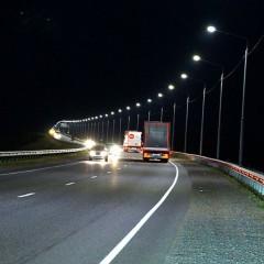Трассу Р-255 в Красноярском крае осветят в пяти населенных пунктах