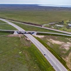 С 25 июля на участке трассы «Таврида» от Приморского до Белогорска в Крыму изменилась схема движения