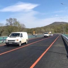 Запущено движение по новому автомобильному мосту через реку Джубга в Краснодарском крае