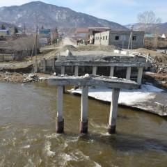 В Республике Алтай восстановили мост в селе Онгудай