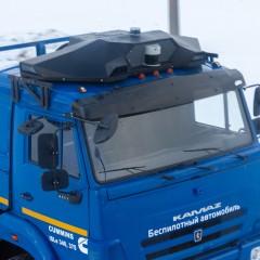 Беспилотный грузовик Эвокарго