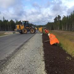 В Ханты-Мансийском автономном округе построили новую дорогу