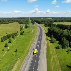 Дорожники отремонтировали трассу Р-255 «Сибирь» на подъезде к Кемерово