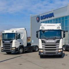 В Липецке появилась первая газомоторная техника Scania