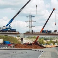 Крупную развязку в Белгороде откроют на полтора года раньше срока