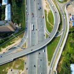 Стартовали работы по реконструкции участка трассы М-8 «Холмогоры» в Московской области
