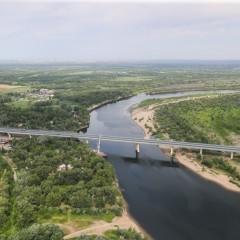 Началось строительство дороги через Волго-Ахтубинскую пойму