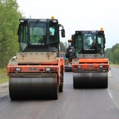 В Омской области отремонтировали 65 км трассы Р-402
