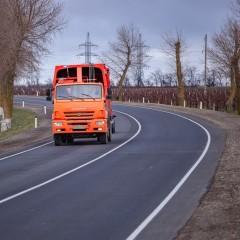 На трассе А-290 реконструируют стационарный пост весового контроля