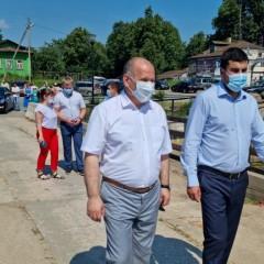 В Ивановской области восстановили обрушившийся ранее мост