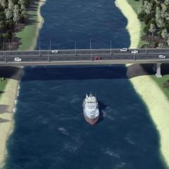 На обходе Волгограда начали возводить мост через Волго-Донской канал