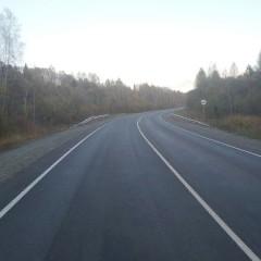 В Алтайском крае отремонтировали дорогу в Кемеровскую область
