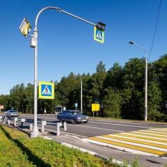 На федеральных трассах Карелии установили еще 7 дорожных камер